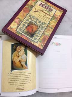 Victoria: A Love Is Born : A New Mother's Keepsake Journal (Hardcover) by Nancy Lindemeyer (Editor)