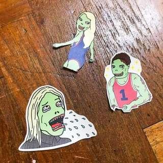 🚚 Zombie Squad Stickers