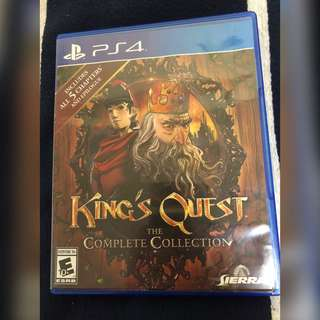 🚚 King's Quest The Complete Collection PS4 Game Playstation 4 PS 4