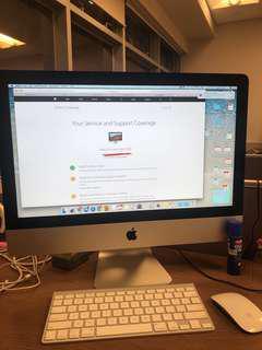 [不議價貨品]iMac 21.5 inch Late 2012.  2.7GHz Intel core i5. 8 GB 1600 MHz DDR3 with 1TB HDD