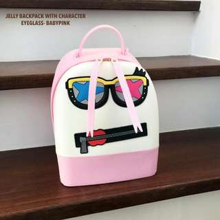 Jelly backpack W/ Character-eyeglass
