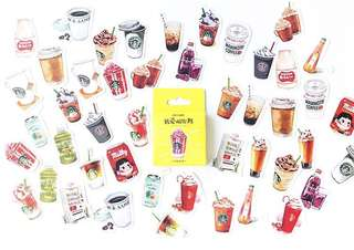 [PO] Box Stickers: Drinks that I love