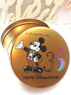 Tokyo Disney Resort 東京迪士尼35週年 餅罐