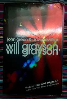 Will Grayson, Will Grayson by John Green & David Levithan