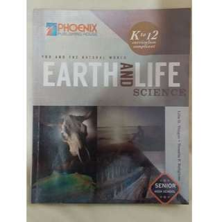Earth and Life Science Book