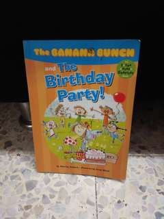 The banana bunch and the birthday party