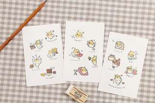 (PO) Pet Diaries Postcards/ Post Cards