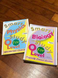(W/ FREE RI A LEVEL CHEM NOTES) O level biology and physics textbooks