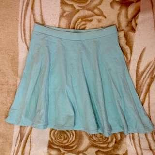 Skater Skirt - Pastel Blue