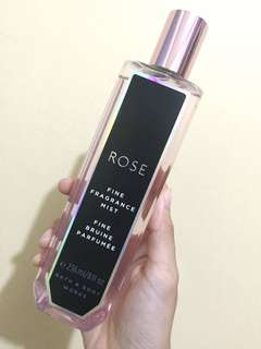 Rose: Fine Fragrance Mist