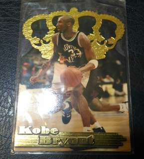 Kobe Bryant 1996 Pacific Gold Crown GC-3