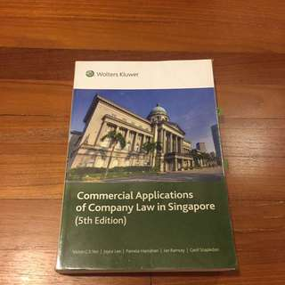 Commercial Applications of Company Law in Singapore(5th edition)