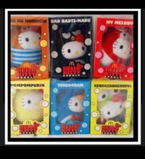 Bubbly Hello Kitty full set of 6