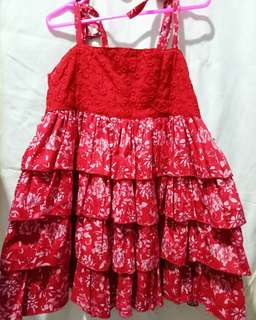 Red Dress for 2y