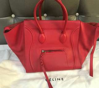 Celine Phantom Red