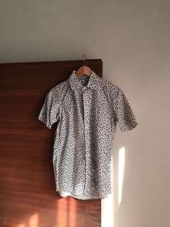Uniqlo floral shirt