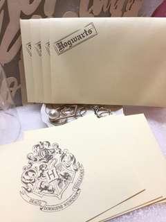 Universal Studio Harry Potter 信紙信封
