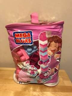 Mega Bloks pink set