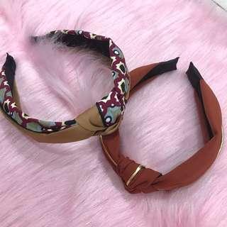 Korean knot headband
