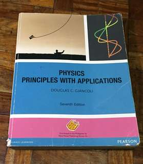 Pearson Physics Principles with Applications 7th Edition