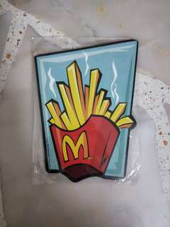 🚚 Macdonalds Fries notepad