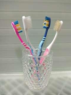 水晶膠牙擦座/肥皂碟套裝
