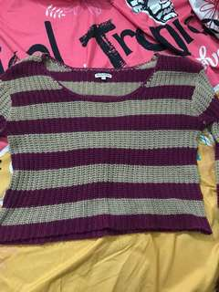 Crop Sweater by Colorbox
