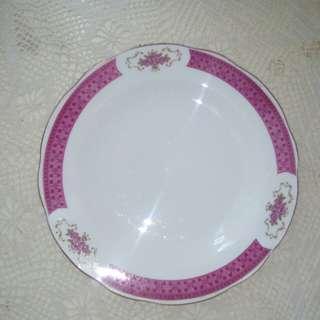 """Vintage flat plate, 9"""""""