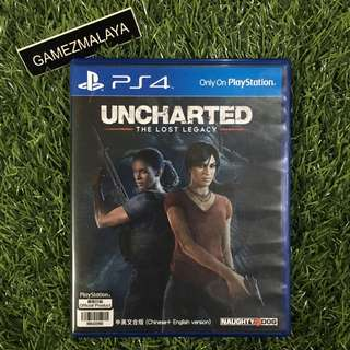 [USED] PS4 UNCHARTED THE LOST LEGACY - (GAMEZMALAYA)
