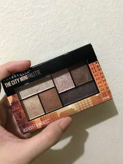 MAYBELLINE THE CITY MINI PALETTE ROOFTOP BRONZES