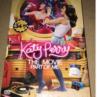 Katy Perry - The Part of Me (DVD Movie)