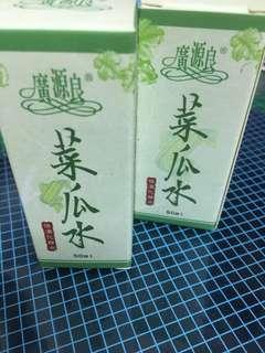 🚚 廣源良 菜瓜水 50ml 兩瓶