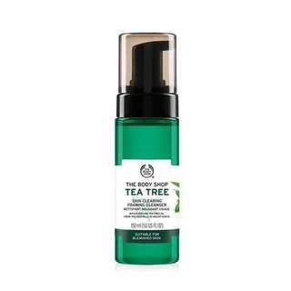BODY SHOP TEA TREE SKIN CLEARING FOAMING CLEANSER