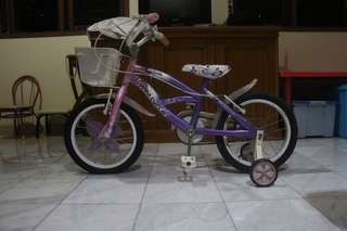 PRELOVED SEPEDA WIM CYCLE FOR GIRL