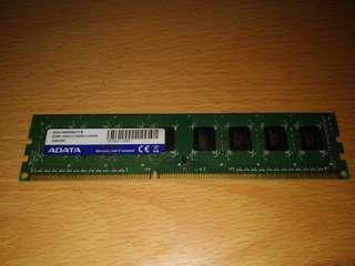 Adata ddr3 1600 4g desktop
