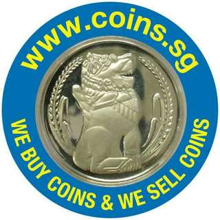 For more of our Coins listings please click: carousell.com/coins.sg