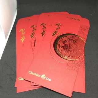 Clariden leu red packet