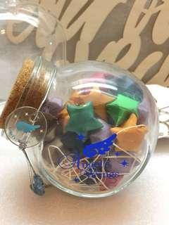 星星玻璃瓶
