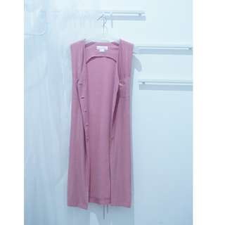 Long Outer Pink