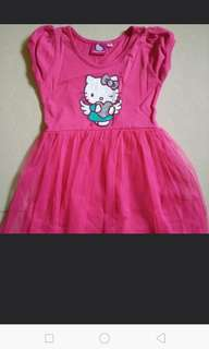 Hello kitty pink dress