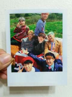 (QYOP) OFFICIAL BTS YOUNG FOREVER GROUP POLAROID / PC /PHOTOCARD