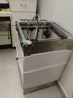 3d打印机 ultimaker 2结构 diy 钢板铝型材机器