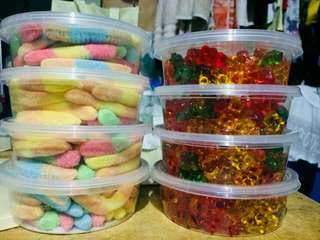 Gummy worms/bears