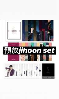 wanna one premium fan-con dvd & blur ray jihoon set