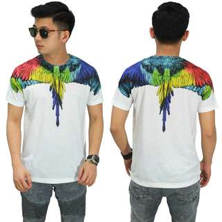 Kaos Printing Double Rainbow Wings (front/back)