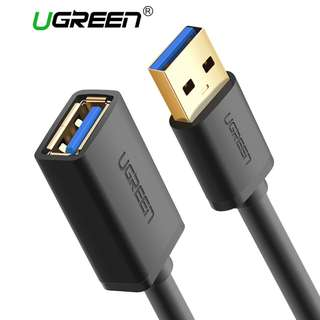UGREEN 1 meter USB 3.0 High-speed Male to Female USB Extension Cable
