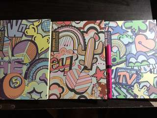 3pcs Notebooks