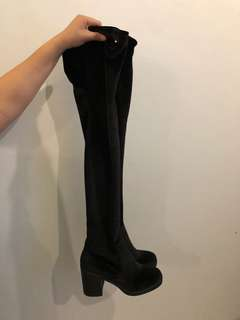 Forever 21: Thigh high boots (never worn‼️)