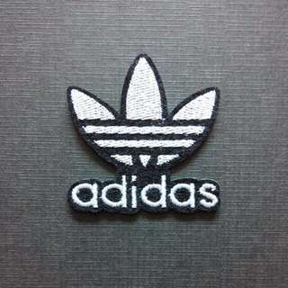 Adidas Logo Originals Iron On Patch