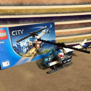 Lego 60008 直升機